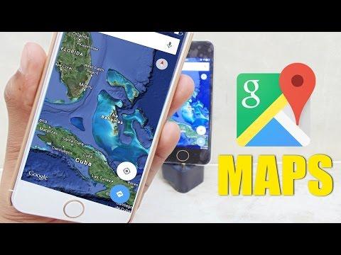 Cài google map cho ios 8