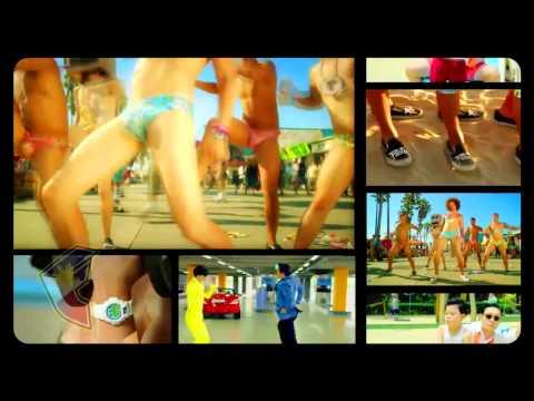 PSY vs LMFAO - Sexy Style (Mash-up) Gangnam Style