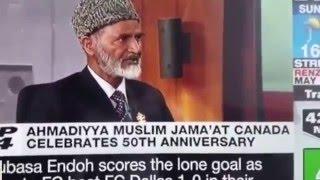 CP24: 50 years of Ahmadiyya Muslim Community in Canada