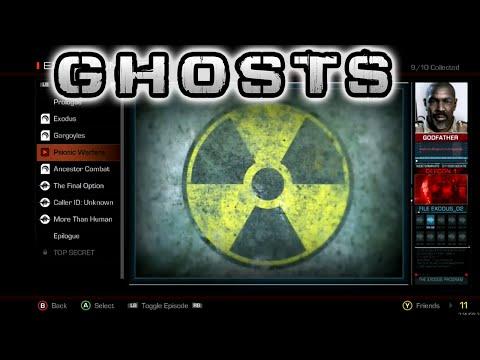 COD Ghost : All Exodus Intel Cutscenes - Extinction Exodus DLC (Intel)
