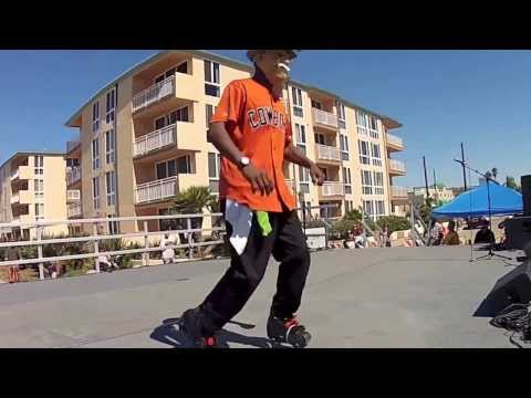 Pacific Beach Fest Skate Show - Tony 2nd Solo
