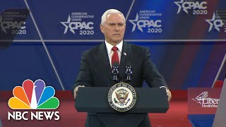'We're Ready For Anything': Pence Discusses Coronavirus Outbreak At CPAC | NBC News