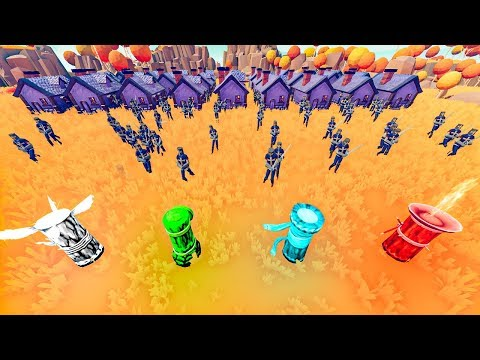 TABS - New TOWER DEFENSE Game Mode with Elemental Totems in Totally Accurate Battle Simulator!
