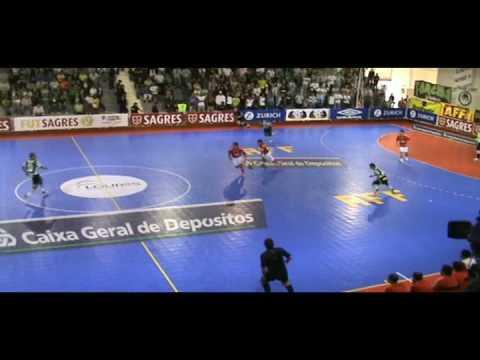 Futsal :: 03J :: Sporting - 1 x Benfica - 1 de 2008/2009
