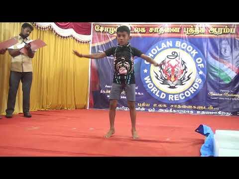 World Record Video Of M.Vishnu Prabhu, [Son Of Muthu Mari]