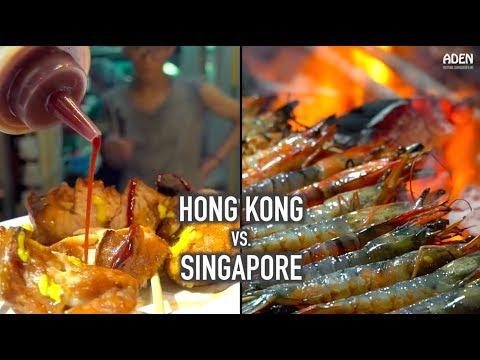 Hong Kong vs. Singapore - Street Food in Asia