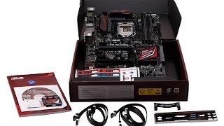Asus Z170 Pro Gaming [Распаковка/Обзор]