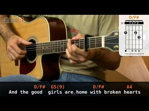 Free Fallin John Mayer Aula De Violo Youtube