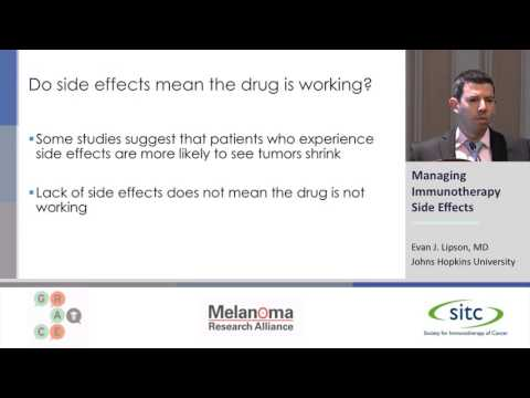 Managing Immunotherapy Side Effects