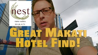 Makati Philippines Hotel Stay on the Cheap! Nest Nano Suites Deal