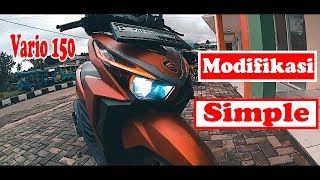 Review Modifikasi Simple Vario 150