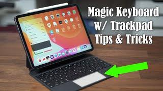 2020 iPad Pro Magic Keyboard with Trackpad - 25+ Tips and Tricks