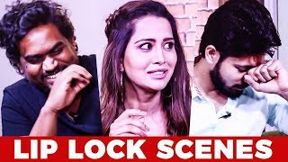 LIP-LOCK Scenes la யாருக்கு பதட்டம்? - Harish, Raiza & Yuvan | Pyar Prema Kadhal | MY298