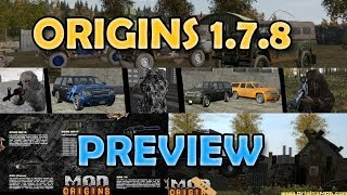 Dayz Origins: 1.7.8 Update Preview