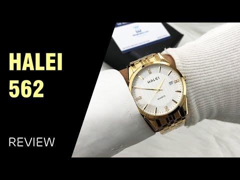 Đồng hồ Halei 562M giá rẻ có lịch chính hãng, chống nước tắm, bơi tốt
