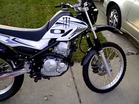 2008 yamaha xt 250 sold - YouTube