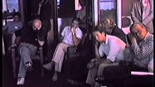 Пресс-конференция профессора Эдварда Теллера в Дубне, 1992 г.