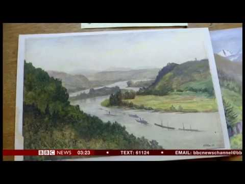 Hitler paintings sale halted amid forgery claims (Germany) - BBC News - 25th January 2019