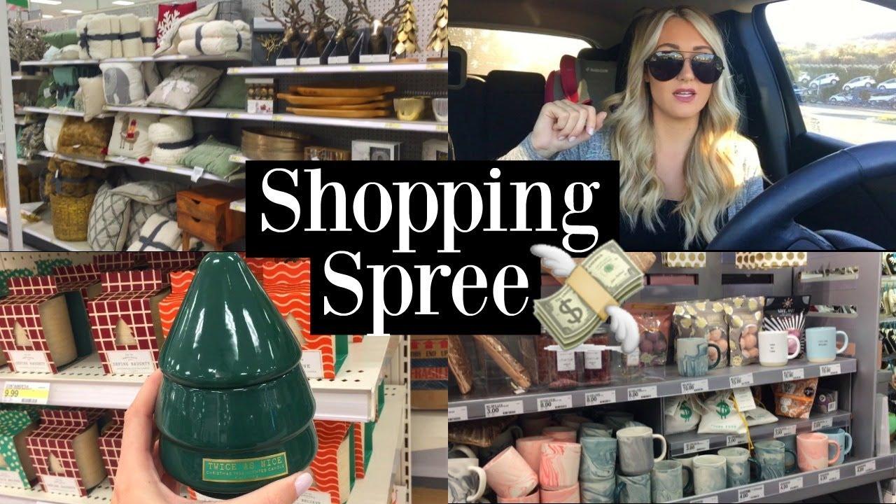 Shop With Me Vlog Target Christmas Shopping Haul 2017 Tara Henderson