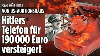 ★ Hitlers Rotes Telefon für 229.000 Euro versteigert│Eine Fälschung wurde erfolgreich verkauft