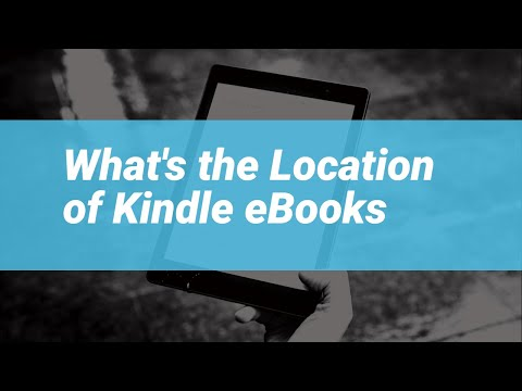 Kindle 101 - Where Are Kindle Books Stored?