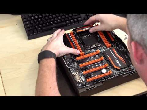 How to install a Motherboard Waterblock - Plus bonus blooper
