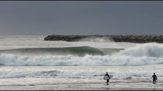 Surfing Iluka, East coast Aus