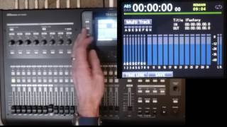 Tascam DP24/32SD Tutorial 3A: Basic 8-track mixer