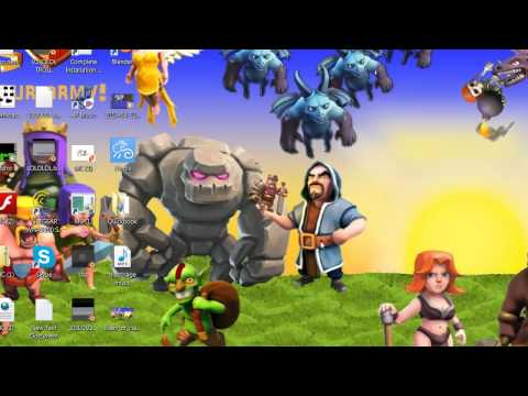 Clash Of Clans HD 1080p Wallpaper!
