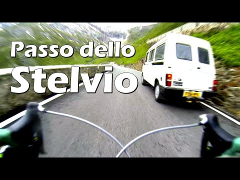 Passo dello Stelvio - Full 25km long bike descent
