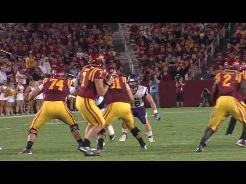 UNI Football Knocks Down Iowa State, 25-20