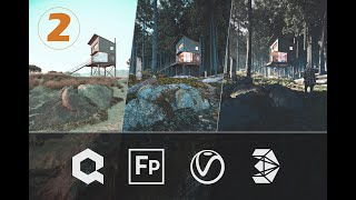 3ds Max + Forest Pack Video 2: Setting Up the Basic Terrain Model With Polygon Tools 2/4