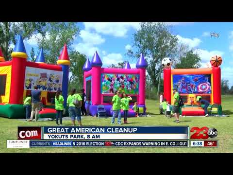 Around 1,500 volunteers expected at Great American Cleanup