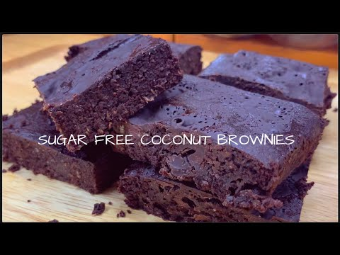 coconut-keto-brownies-|-sugar-free-and-healthy-brownies