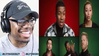 Download Pentatonix - You're A Mean One, Mr Grinch REACTION!