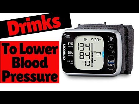 5 Drinks To Lower Blood Pressure