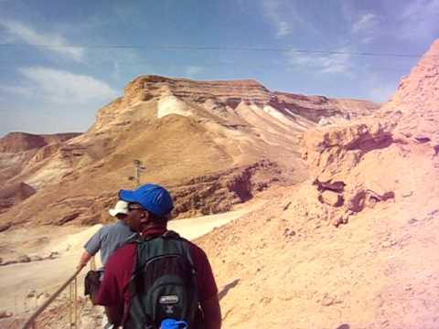 The Race up Masada