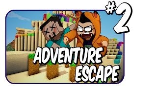 Minecraft Mini game map: Adventure Escape | Ep.2 | Steven and Sly