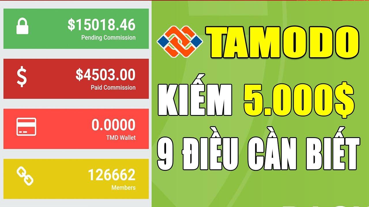 KIẾM TIỀN ONLINE tại nhà: SonPiaz hướng dẫn Tamodo kiếm 5.000$ (Đã rút)