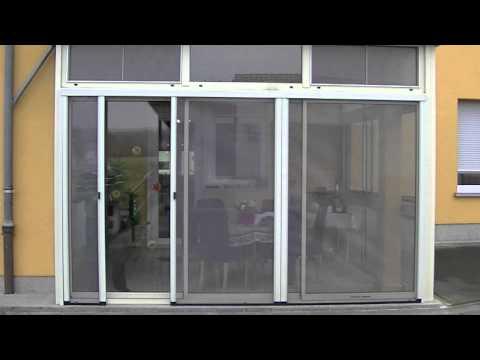moustiquaire moustiflex porte fenetre 2 modules free doovi. Black Bedroom Furniture Sets. Home Design Ideas