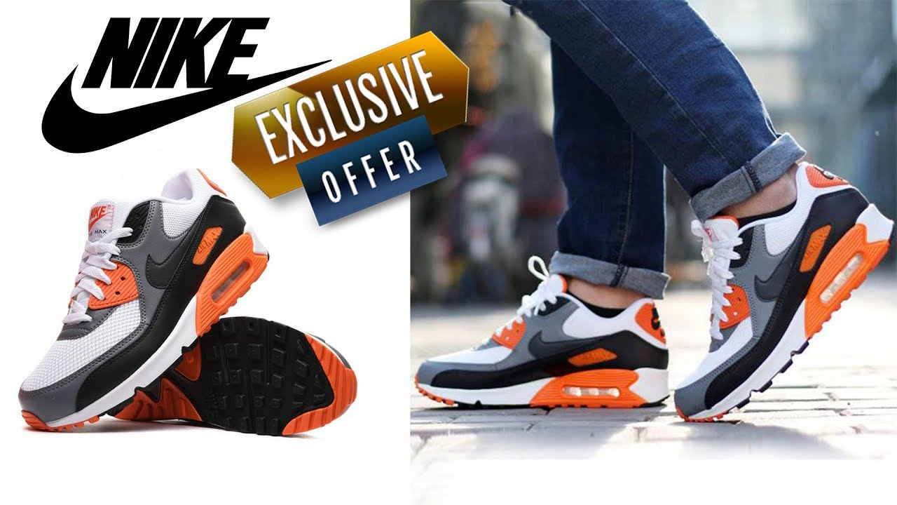 brand new e5aff 67807 Original Authentic NIKE Men s Shoes AIR MAX 90 - NIKE Mens fashion shoes   Aliexpress