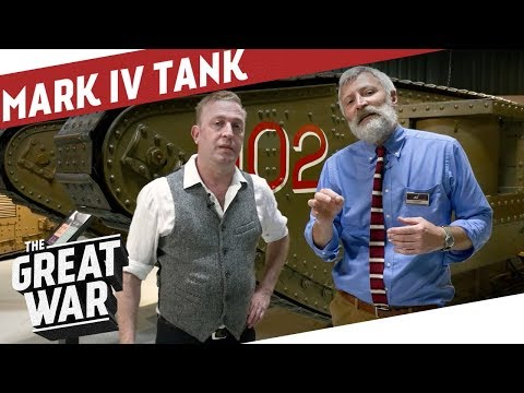 Inside A British Mark IV WW1 Tank I THE GREAT WAR Special