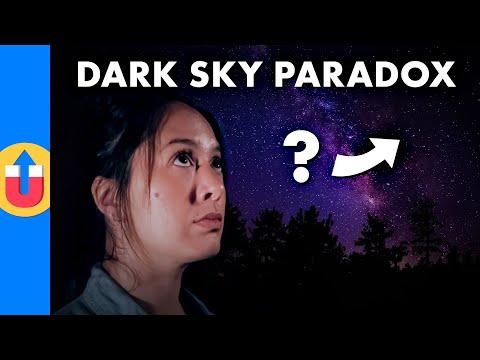 The Dark Sky Paradox - A Never-Ending Universe