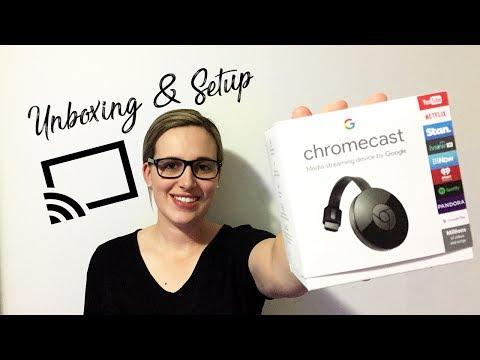 ChromeCast 2017 - Unboxing & Setup