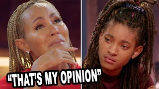 Willow Smith Confronts Mom For Supporting Trump On Red Table Talk