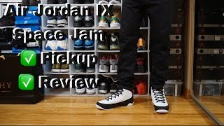 Air Jordan 9 Space Jam Pickup &  Review