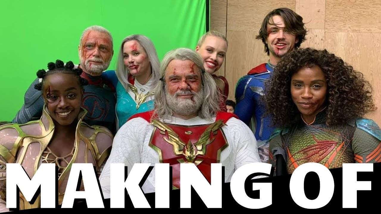 Making Of JUPITER'S LEGACY - Best Of Behind The Scenes, On Set Bloopers & Funny Moments | Netflix