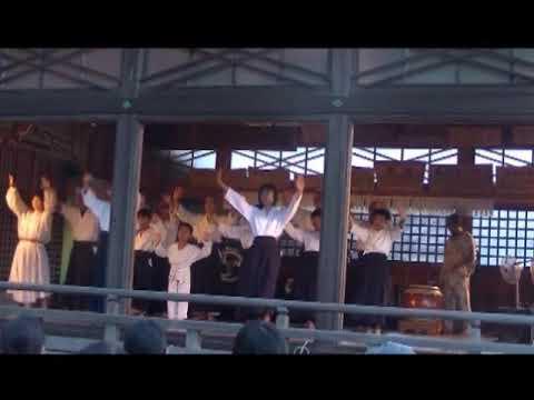 【動画】令和元年7月27日 白山神社「夏越祭」 奉納演武