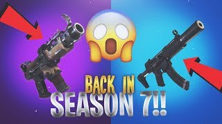 So the best guns are back in Fortnite..