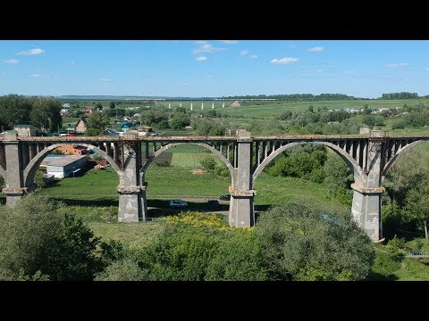 Старый Ж/Д мост около Канаша